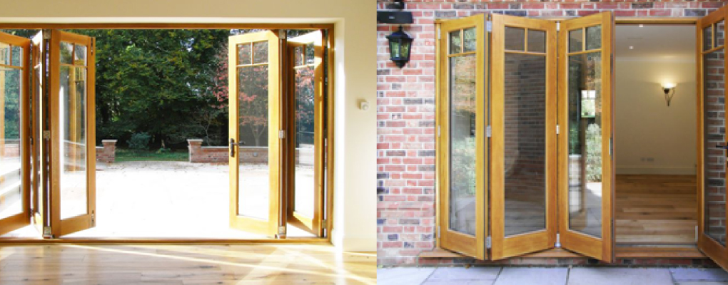 Bespoke Bi-folding Doors Fitted in Reading, Basingstoke and the Thames Valley by New Vision Joinery