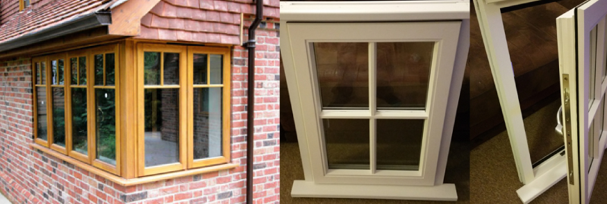 Bespoke Windows Fitted in Reading, Basingstoke and the Thames Valley by New Vision Joinery